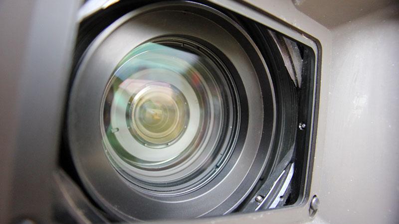 EB-Kamera für Fernsehproduktion