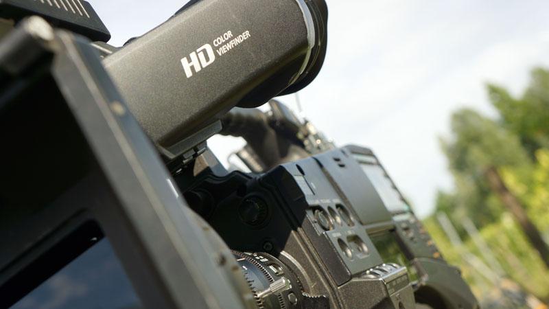 Fernsehproduktion mit P2HD Kamera