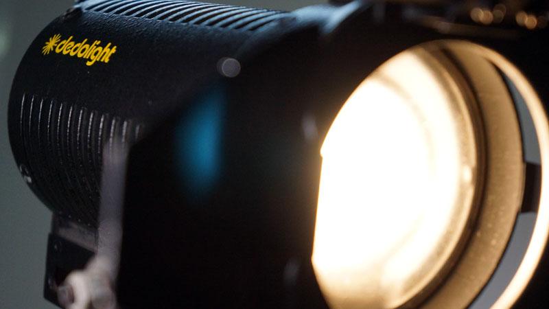 Lichttechnik für Fernsehproduktion