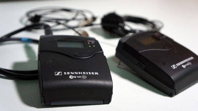 Funkmikrofone für TV-Produktion