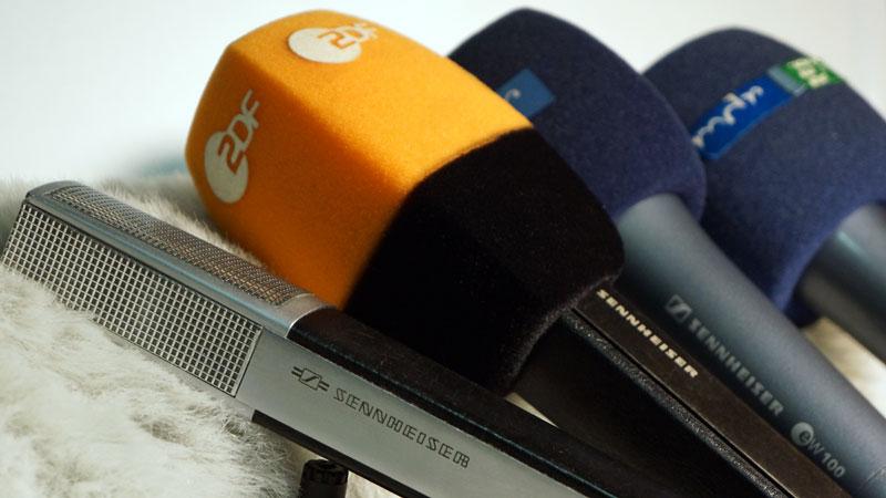 Mikrofone für Fernsehproduktion bei ZDF und MDR