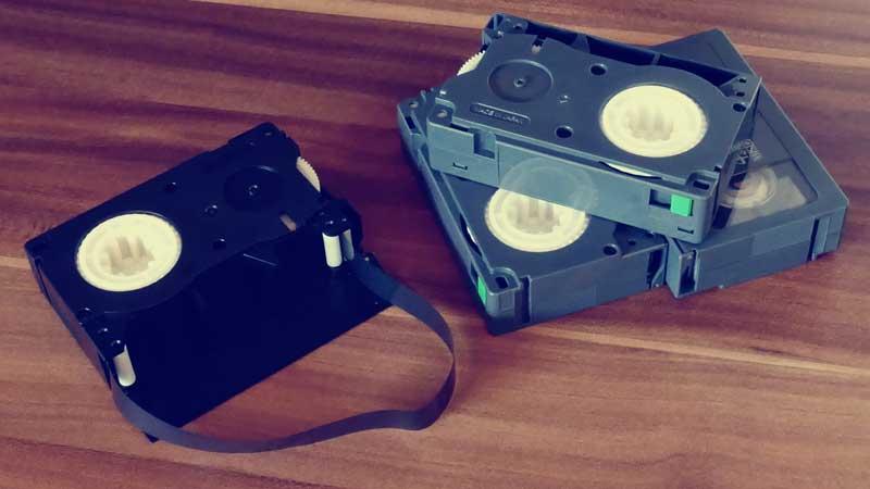 Digitalisierung von Videokassetten