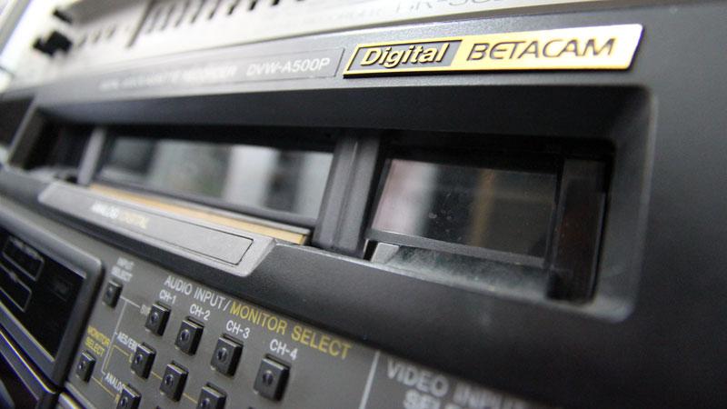 Digitalisierung von Digital Betacam und U-matic