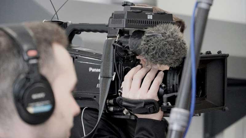 EB-Team für Fernsehproduktion in Halle