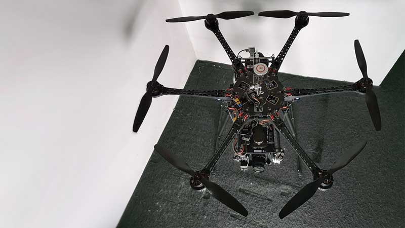 Hexacopter für Fernsehproduktion in Full HD