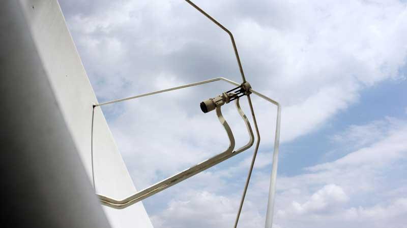 Satelliten Uplink für Live Übertragung aus Halle (Saale)